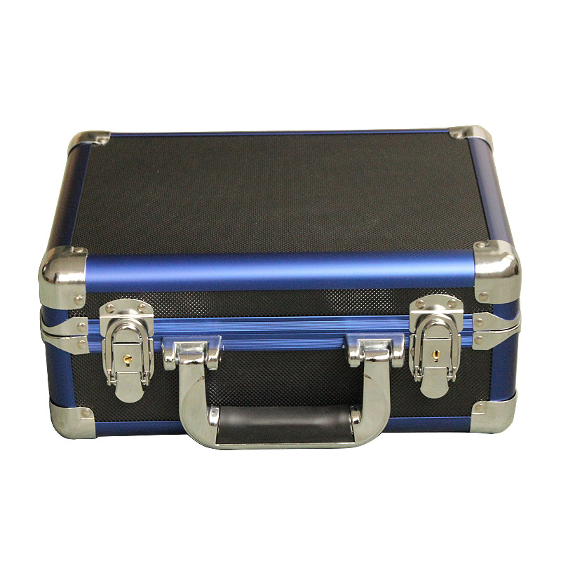 Aluminum Short Gun Case (Blue)
