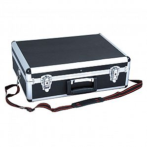 Aluminum Tool Case with Shoulder Strap