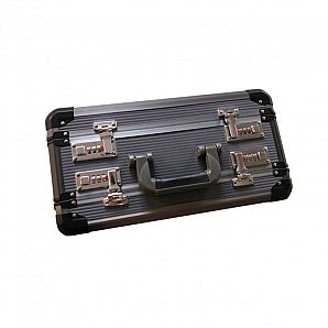 Double Door Aluminum Pistol Case