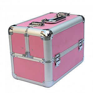 Aluminum Cosmetic Train Case